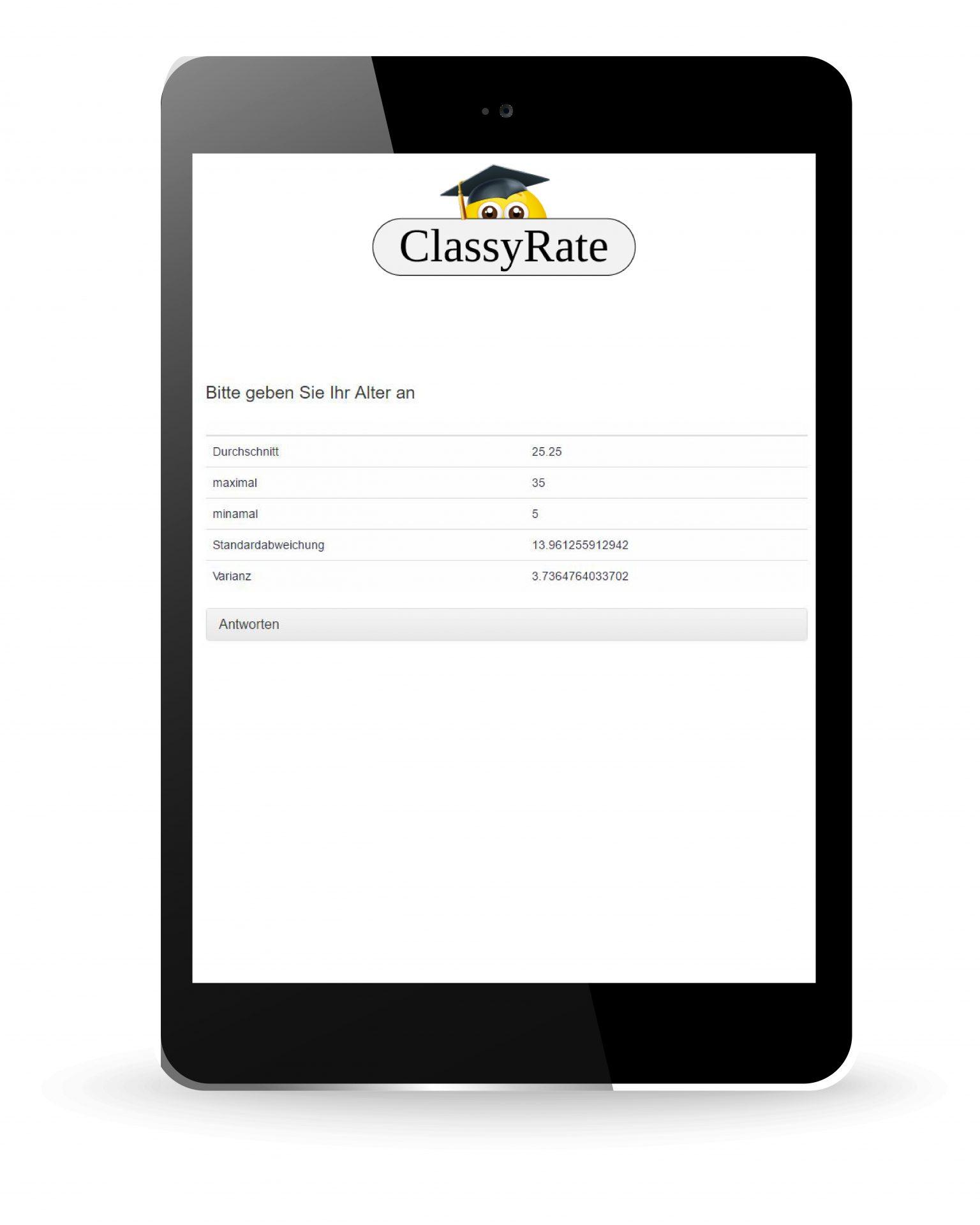 Umfragen mit Einfache Checklisten